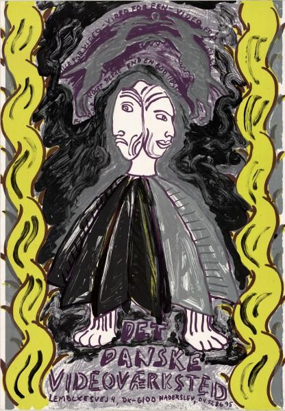 Bjørn Nørgaards DDV plakat 1984