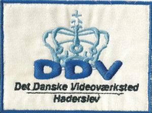 DDV broderet logo